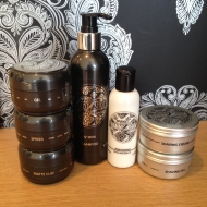 Men's haircare product range available